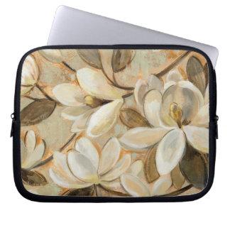 Protection Pour Ordinateur Portable Crème de simplicité de magnolia