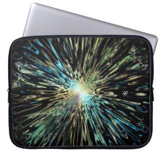 Protection Pour Ordinateur Portable Croquis coloré psychédélique de Big Bang