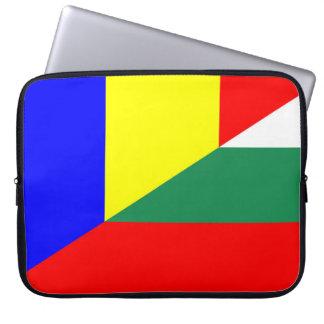 Protection Pour Ordinateur Portable de symbole de pays de drapeau de la Roumanie