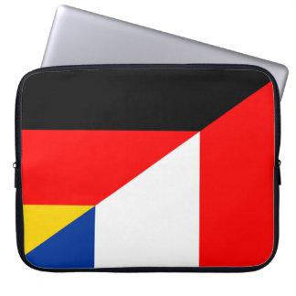 Protection Pour Ordinateur Portable de symbole de pays de drapeau de l'Allemagne