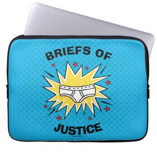 Protection Pour Ordinateur Portable Dossiers de capitaine Underpants   de justice