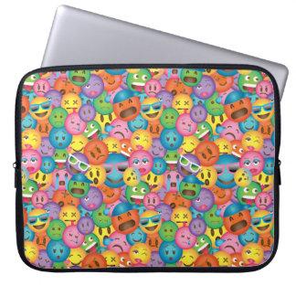 Protection Pour Ordinateur Portable Douille colorée d'impression d'Emoji