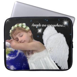 Protection Pour Ordinateur Portable Douille de dessus de recouvrement d'ange