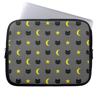Protection Pour Ordinateur Portable Douille de lune de chat de Kitty et d'ordinateur