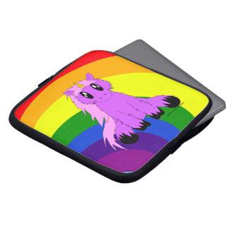 Protection Pour Ordinateur Portable Douille délabrée mignonne d'ordinateur portable de