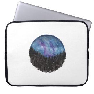 Protection Pour Ordinateur Portable Douille d'ordinateur portable de galaxie de forêt
