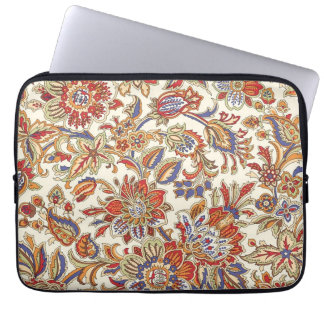 Protection Pour Ordinateur Portable Douille florale abstraite d'ordinateur portable du