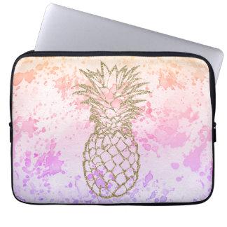 Protection Pour Ordinateur Portable Douille Girly d'ordinateur portable d'aquarelle de