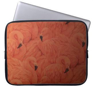 Protection Pour Ordinateur Portable Douille rose tropicale d'ordinateur portable de