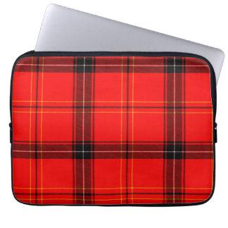 Protection Pour Ordinateur Portable Douille rouge et noire d'ordinateur portable de