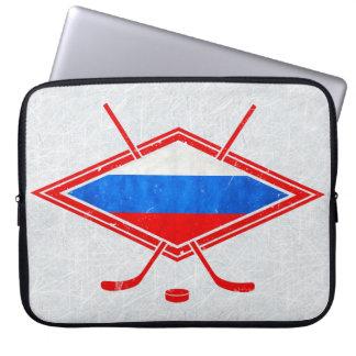 Protection Pour Ordinateur Portable Douille russe d'ordinateur portable de hockey sur