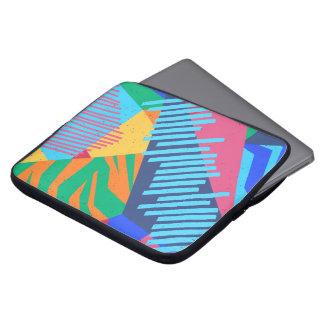 Protection Pour Ordinateur Portable Douille tropicale abstraite colorée d'ordinateur