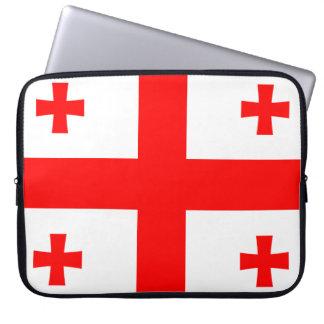 Protection Pour Ordinateur Portable Drapeau de la Géorgie