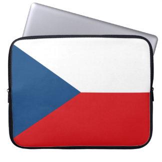 Protection Pour Ordinateur Portable Drapeau tchèque