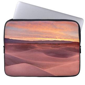 Protection Pour Ordinateur Portable Dunes de sable roses, Death Valley, CA