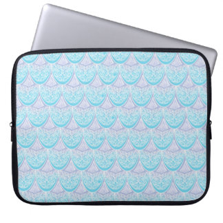 Protection Pour Ordinateur Portable Échelles roses de sirène, boho, hippie, de Bohème