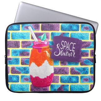 Protection Pour Ordinateur Portable Espacez la boisson de fruit de saveur et les
