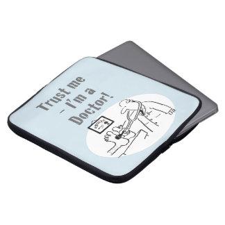 Protection Pour Ordinateur Portable Faites- confiancemoi - je suis un docteur ! Bande