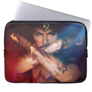 Protection Pour Ordinateur Portable Femme de merveille bloquant avec des bracelets