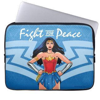 Protection Pour Ordinateur Portable Femme de merveille - combat pour la paix