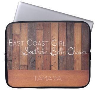Protection Pour Ordinateur Portable Fille de Côte Est avec le charme du sud de belle