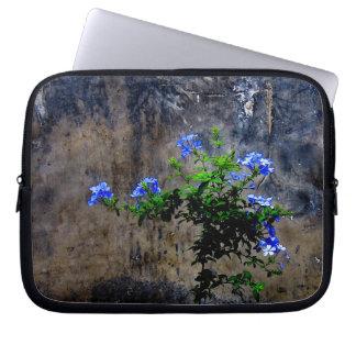 Protection Pour Ordinateur Portable Fleur bleue de plumbago