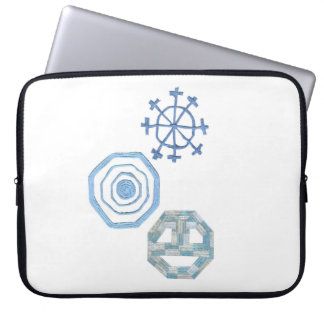 Protection Pour Ordinateur Portable Flocon de neige spécial douille d'ordinateur