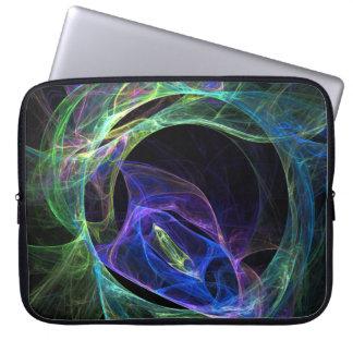 Protection Pour Ordinateur Portable Fractale d'énergie
