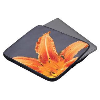 Protection Pour Ordinateur Portable Hémérocalle et douille excentrées d'ordinateur