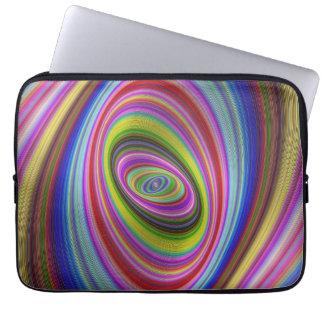 Protection Pour Ordinateur Portable Hypnose colorée