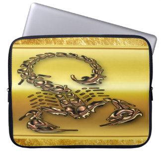Protection Pour Ordinateur Portable Insecte très venimeux toxique en bronze de