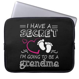 Protection Pour Ordinateur Portable J'ai un Im secret aller être une grand-maman