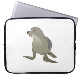 Protection Pour Ordinateur Portable Joint gris