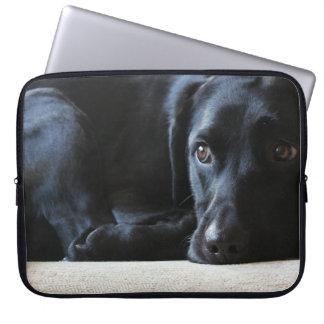 Protection Pour Ordinateur Portable Labrador noir