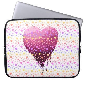 Protection Pour Ordinateur Portable Le coeur de Valentine