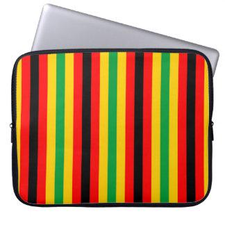 Protection Pour Ordinateur Portable Le drapeau du Zimbabwe barre des lignes couleurs