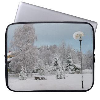 Protection Pour Ordinateur Portable Le pays des merveilles d'hiver