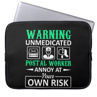 Protection Pour Ordinateur Portable Le travailleur postal non médical ennuient pour