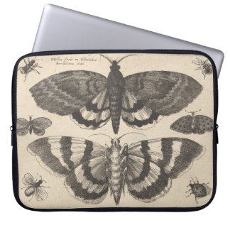 Protection Pour Ordinateur Portable Lépidoptères vintages de mite