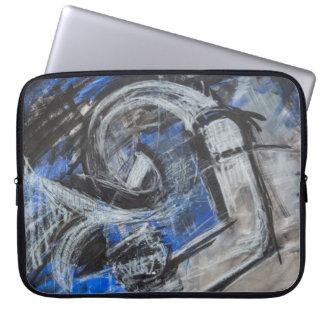 Protection Pour Ordinateur Portable Les émotions ouvrent maintenant l'illustration