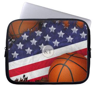 Protection Pour Ordinateur Portable Les Etats-Unis diminuent et basket-ball décoré