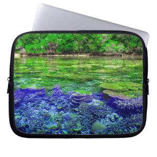 Protection Pour Ordinateur Portable Littoral tropical de récif coralien