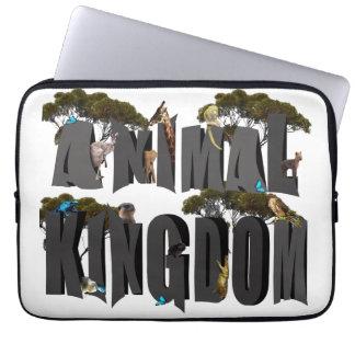 Protection Pour Ordinateur Portable Logo de règne animal avec des animaux, 13 pouces