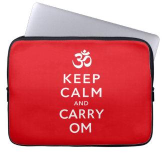 Protection Pour Ordinateur Portable Maintenez calme et portez le néoprène de