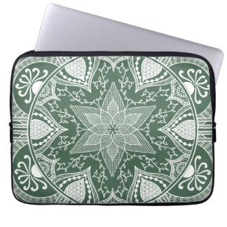 Protection Pour Ordinateur Portable Mandala de forêt