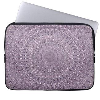 Protection Pour Ordinateur Portable Mandala pourpre en pastel