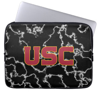 Protection Pour Ordinateur Portable Marbre noir des Trojan | d'USC