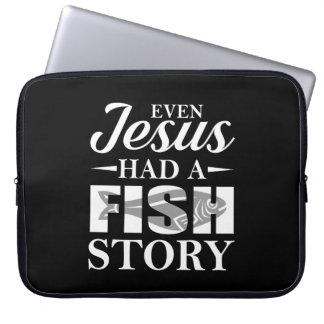 Protection Pour Ordinateur Portable Même Jésus a eu la chemise de pêche de Jésus