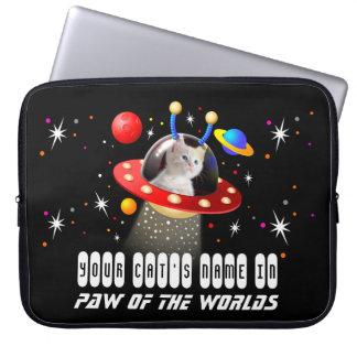 Protection Pour Ordinateur Portable Mettez votre chat dans un film étranger d'UFO Sci