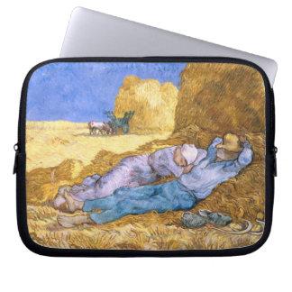 Protection Pour Ordinateur Portable Midi de Vincent van Gogh  , la sièste, après
